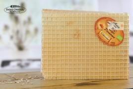 Domowe wafle orkiszowe bez cukru bio 190g