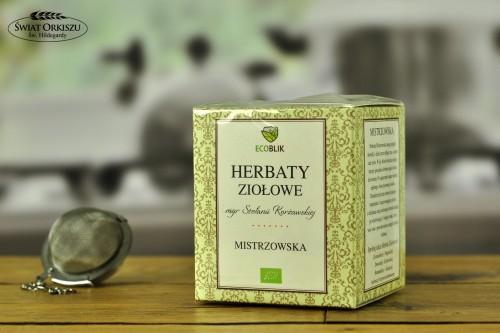 Herbata mistrzowska w saszetkach 40g