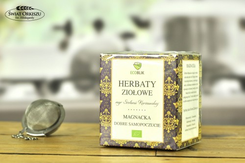 Herbata magnacka w saszetkach 40g