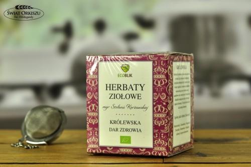 Herbata dla zdrowia królewska w saszetkach 40g