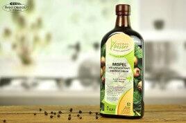 Napój dodający energii z owoców nieszpułki 500ml