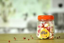 Landrynki owocowe słodzone ksylitolem 160g