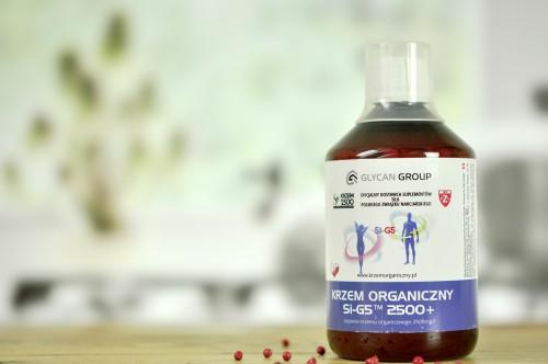 Krzem Organiczny SI-G5 2500+ 500ml