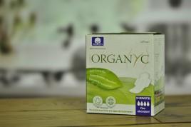 Podpaski higieniczne z 100% ekologicznej bawełny ze skrzydełkami na NOC