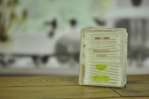Patyczki kosmetyczne biodegradowalne Bio 200sztuk