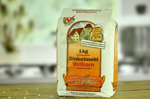 Mąka orkiszowa pełnoziarnista /razowa/2,5kg