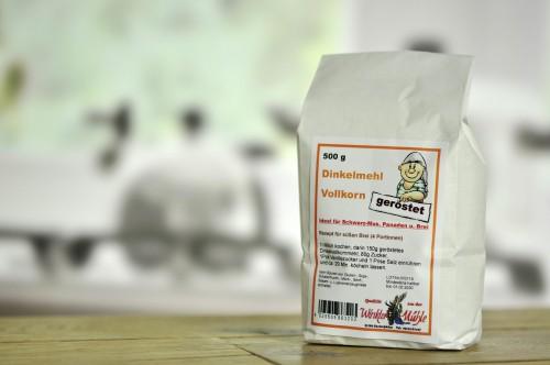 Mąka orkiszowa pełnoziarnista -panierka 500g