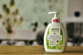 Mydło w płynie - odświeżające bio limetka i bio trawa cytrynowa 250ml