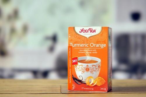 Herbatka z kurkumą i pomarańczą Bio - 17*2g