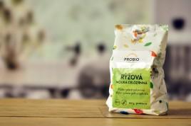 Bezglutenowa mąka ryżowa pełnoziarnista Bio 300g - Probio