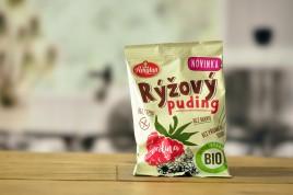 Budyń ryżowy malinowy Bio 40g