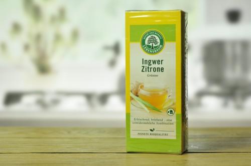 Herbata zielona imbir- cytryna ekspresowa bio 20*2g