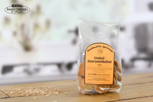 Ciasteczka orkiszowo - kasztanowe 150g