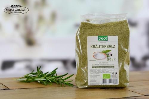 Sól ziołowa Bio – opakowanie do uzupełnienia 500g