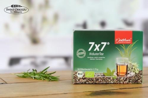 Herbata ziołowa 7*7 50 saszetek Bio
