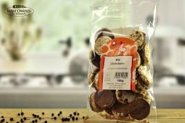 Talarki orkiszowe w mlecznej czekoladzie 100g